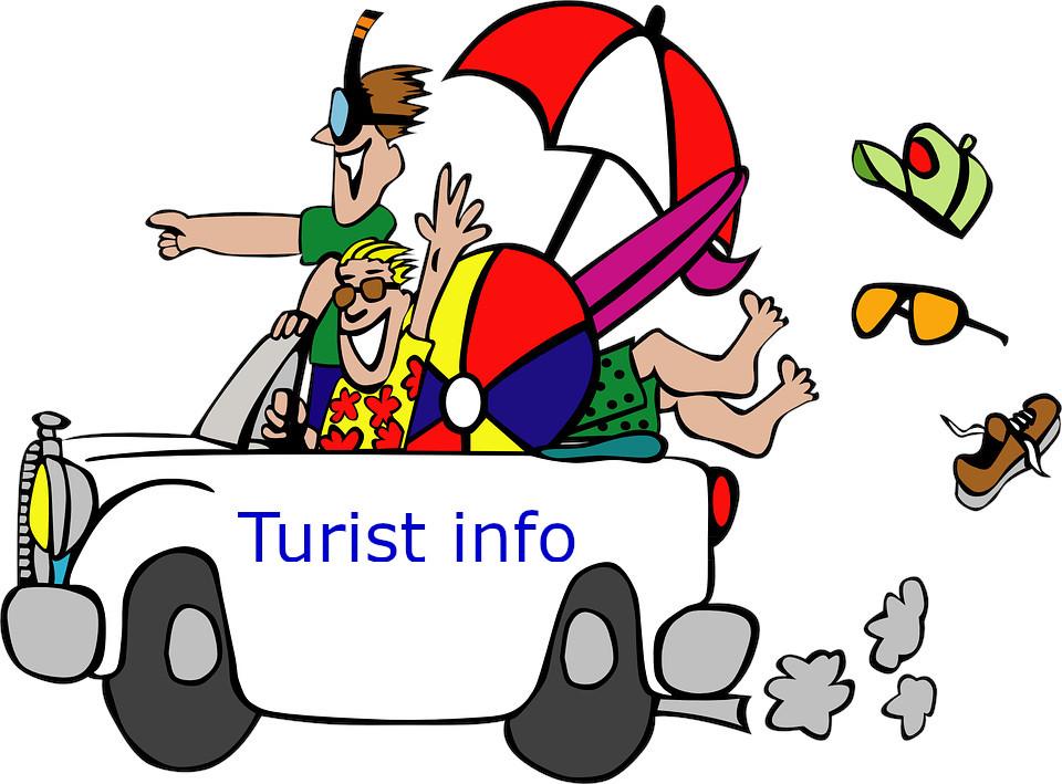 Turist info - Tysk